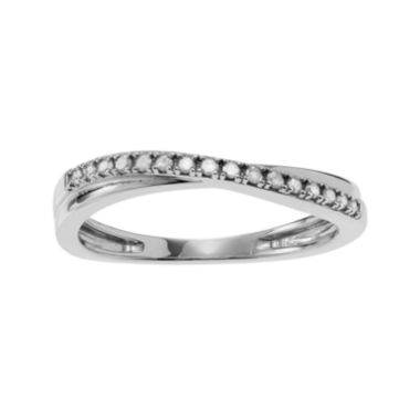 jcpenney.com | 1/6 CT. T.W. Diamond Sterling Silver Ring