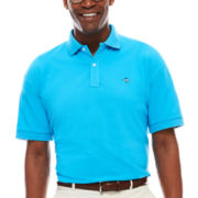 Biscayne Bay Short-Sleeve Pique Polo