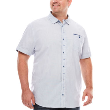 jcpenney.com | i jeans by Buffalo Madao Short-Sleeve Woven Shirt - Big & Tall