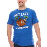 Disney® Short-Sleeve Not Lazy Tee - Big & Tall