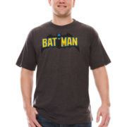 Batman Short-Sleeve Wings Tee - Big & Tall