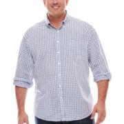 Dockers® Long-Sleeve Resort Button-Front Shirt - Big & Tall