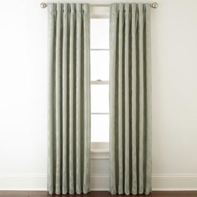 Liz Claiborne® Simone Pinch-Pleat/Back-Tab Curtain Panel