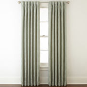 Liz Claiborne® Simone Pinch-Pleat/Back-Tab Curtain Panel