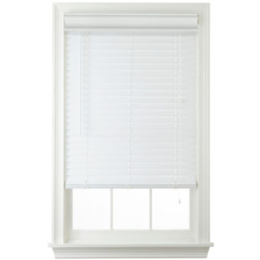 "jcpenney.com | JCPenney Home™ 2"" Faux-Wood Horizontal Blinds"