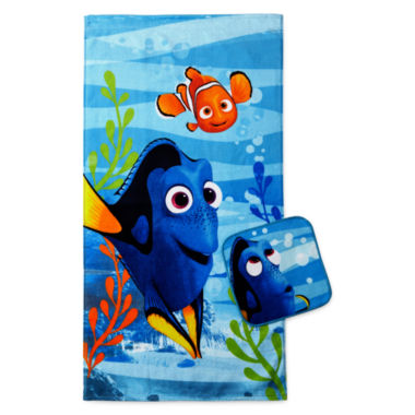 jcpenney.com | Disney® Finding Dory Lagoon 2-pc. Towel Set