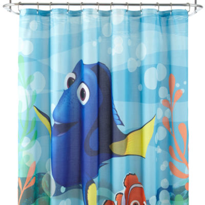 Disney 174 Finding Dory Lagoon Shower Curtain Jcpenney