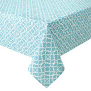 Waverly® Lovely Lattice Indoor/Outdoor Tablecloth