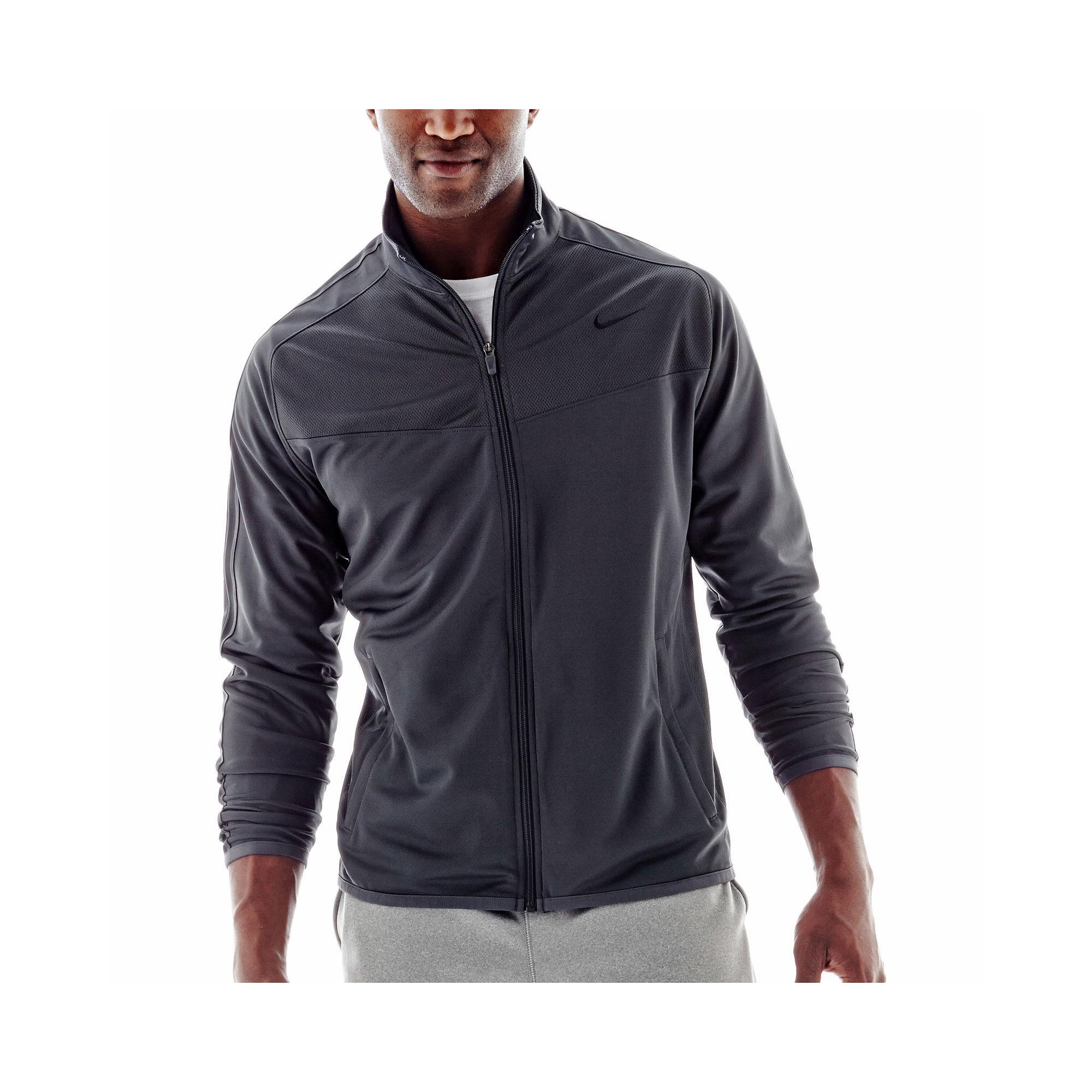 Nike jacket gray and black - Upc 886916687630 Product Image For New Nike Men S Epic Jacket Anthracite Black Medium Upcitemdb