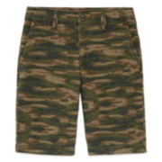 Arizona Print Chino Shorts - Boys 8-20, Husky and Slim
