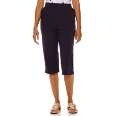 jcpenney.com | Alfred Dunner® Sheeting Capris