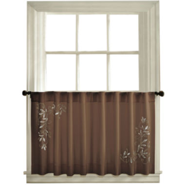jcpenney.com | Scroll Leaf Rod-Pocket Window Tiers