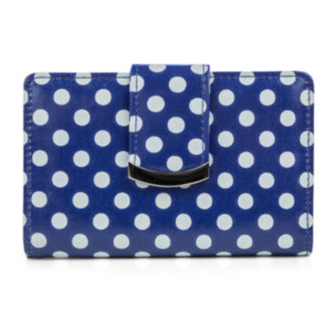jcpenney.com | Mundi® S&P Polka Dot Print Indexer Wallet