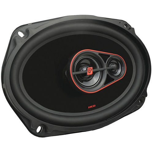 Cerwin-Vega H7693 HED Series 3-Way Coaxial Speakers (6IN x 9IN; 420 Watts max)