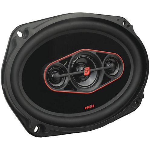 Cerwin-Vega H7694 HED Series 6IN x 9IN 420-Watt 4-Way Coaxial Speakers