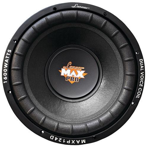 Lanzar Car Audio MAXP104D MaxPro Series Small 4? Dual Subwoofer (10IN; 1;200 Watts)