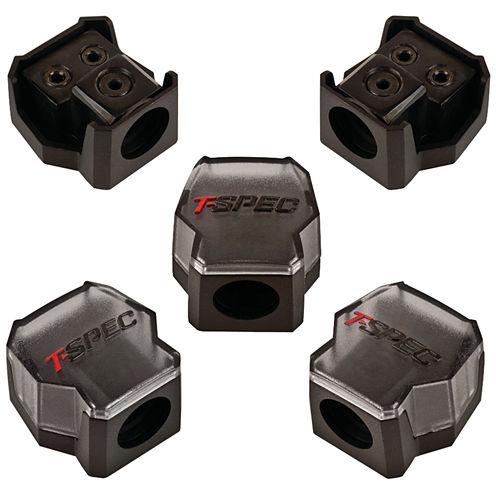 T-Spec V12DB-1124 v12 SERIES 1/0-Gauge In/Two 4/8-Gauge Out Compact Block Distribution