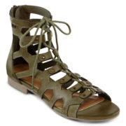 MIA girl  Gala Lace-Up Gladiator Sandals