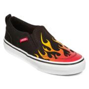 Vans® Asher Boys Skate Shoes - Little Kids