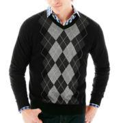 Claiborne® Argyle Sweater