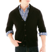 Claiborne® Chunky Shawl-Collar Cardigan