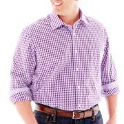 TailorByrd Long-Sleeve Woven Shirt-Big & Tall