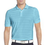 IZOD® Golf Slim-Fit Textured-Stripe Polo