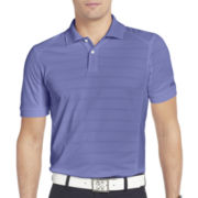 IZOD® Golf Slim-Fit Textured-Stripe Polo