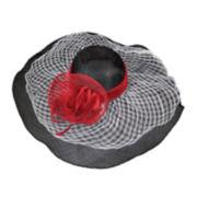 Scala™ Windowpane Sinamay Hat