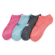 Champion® 4-pk. Double Dry® Marled No-Show Socks
