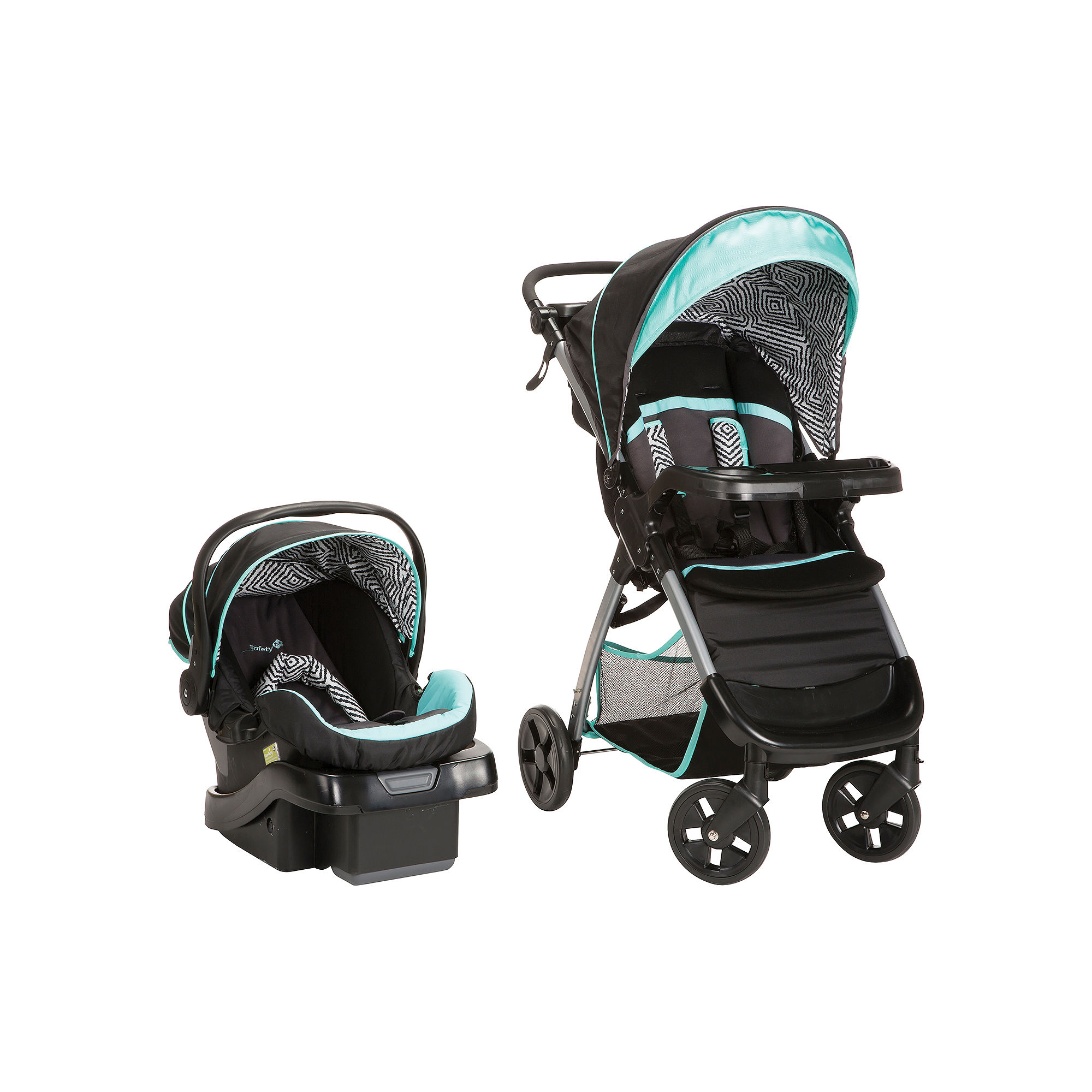 Roller skates jcpenney - Upc 884392592301 Product Image For Safety 1st Amble Quad Onboard 35 Travel System Black