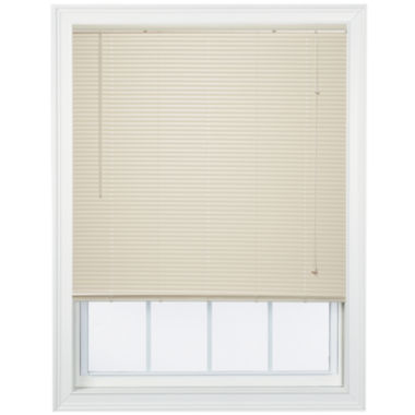 "jcpenney.com | Cut-to-Width 1"" Room-Darkening Horizontal Mini Blinds"