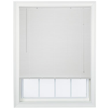 "jcpenney.com | Cut-to-Width 1"" Light-Filtering Horizontal Mini Blinds"