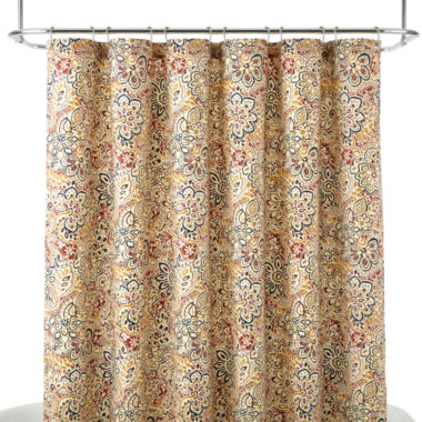 jcpenney.com | JCPenney Home™ Spirited Shower Curtain