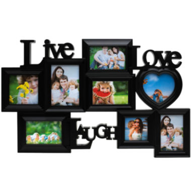 jcpenney.com | Melannco® Live Love Laugh 8-Opening Collage Picture Frame