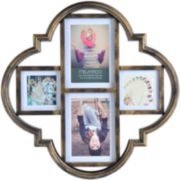Melannco® 4-Opening Bronze Collage Picture Frame