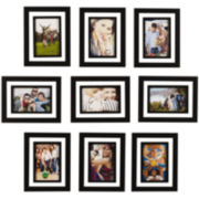 "Melannco® Set of 9 4x6"" Picture Frames"