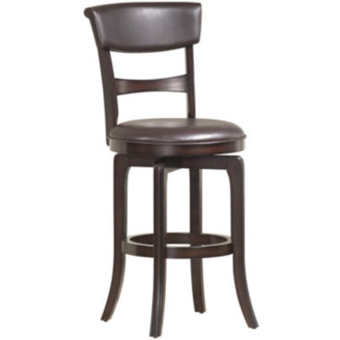 jcpenney.com | Covington Swivel Barstool with Back