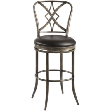 jcpenney.com | Richton Swivel Barstool with Back