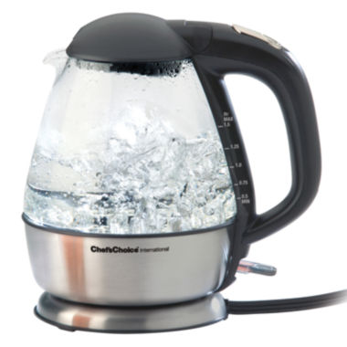 jcpenney.com | Chef's Choice® Cordless Electric Glass Kettle