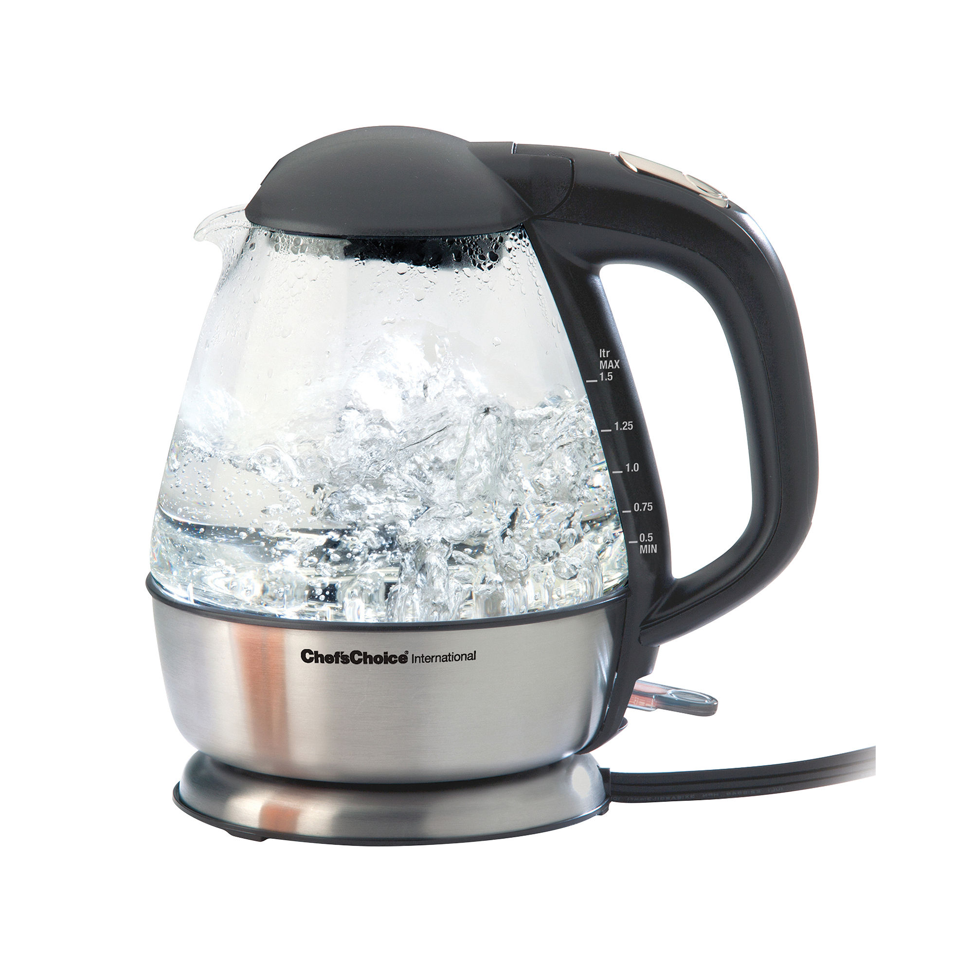 Chef's Choice Cordless Electric Glass Kettle