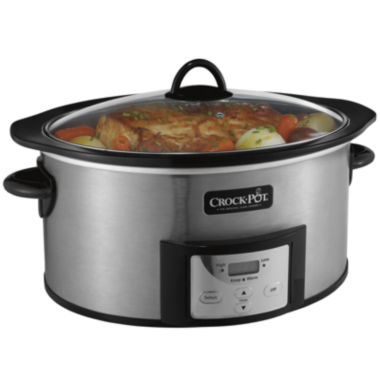 jcpenney.com | Crock-Pot® 6-qt. Slow Cooker with Stovetop-Safe Cooking Pot
