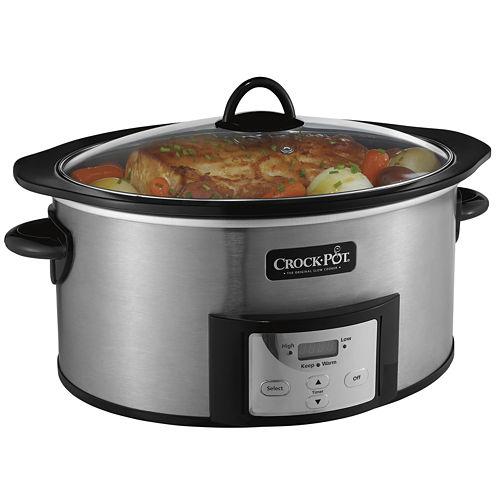 Crock-Pot® 6-qt. Slow Cooker with Stovetop-Safe Cooking Pot