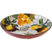 Certified International Botanical Fruit Pasta Serving Bowl