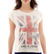 MNG by Mango® Short-Sleeve British Flag T-Shirt
