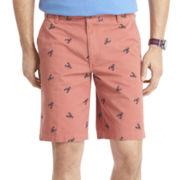 IZOD® Printed Flat-Front Shorts