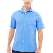 Claiborne® Short-Sleeve Linen Shirt