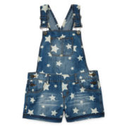 Arizona Chambray Shortalls - Girls 7-16 and Plus