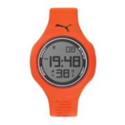 Puma® Orange and Blue Strap Watch