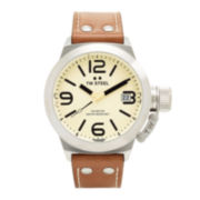 TW Steel Canteen Strap Mens Leather Watch